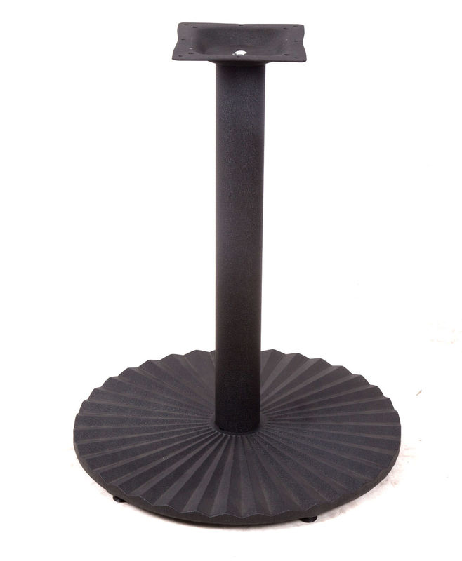 Popular Round Metal Table Base , Cast Iron Table Legs For Dining Room
